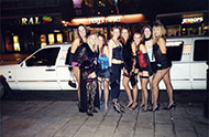 limo for hen night exeter