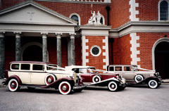classic cars for weddings