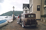 vintage car tour dartmouth devon
