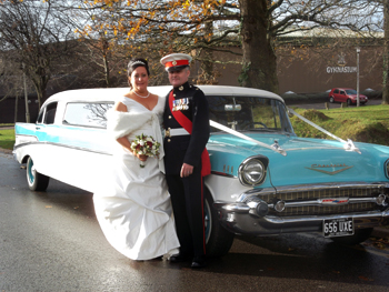 american wedding car for weddings